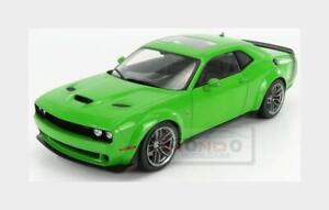 Dodge Challenger R/T Scat Pack Widebody 2020 Green SOLIDO 1:18 SL1805704 Model