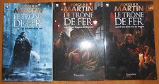 Lot 3 Livres LE TRONE DE FER Tome 13 14 15 GRR MARTIN GAME OF THRONES GR FORMAT