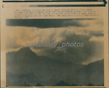 1991 Mount Pinatubo in the Philippines Erupts Original Laserphoto