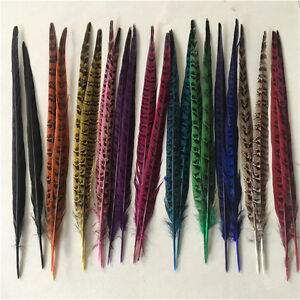 10-100pcs beautiful natural pheasant tail feathers 10-12 inches/25-30 cm