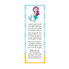 30 bookmarks baby girl shower sprinkle mermaid favor ideas under the sea