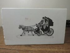 Dept 56 Central Park Carriage 59790 Christmas in the City Accessories w/ Box