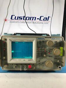 TEKTRONIX 492P RF Spectrum Analyzer 50kHz-21GHz, OPT 1,2,3 *LAB TESTED*