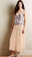 Anthropologie Mes Demoiselles Piroutte Maxi Skirt 36 Retails 285.00 Very Rare