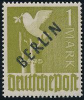BERLIN, MiNr. 17 a, tadellos postfrisch, gepr. Schlegel, Mi. 150,-