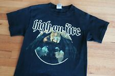 Vintage High On Fire Band Shirt Blessed Black Wings Album 2006 Matt Pike Small