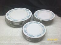 Vintage18 Piece Sango China Sage Dishes Made In Japan