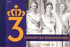 Nederland Prestige Prestigeboekje PR 24 Drie generaties Koninginnen 2009 Postfr.
