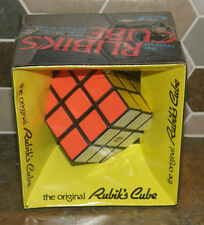 Vintage Retro Original RUBIK'S CUBE Puzzle Toy IDEAL Brain Teaser Factory Sealed