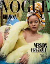 RIHANNA NEW FRENCH VOGUE PARIS MAG COVER DECEMBER 2017