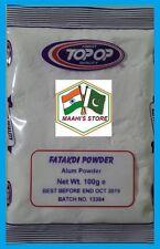 600 G Allume-Fatakdi in polvere-ANTI-BATTERICO Deodorante SOLFATO DI ALLUMINIO E POTASSIO