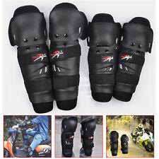 Adult Elbow Knee Shin Armor Guard Pad Protector Motorcycle Bike Ski Snow Skating