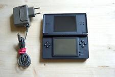 NDS - Nintendo DS Lite Konsole in Schwarz mit Ladekabel und Touchpen