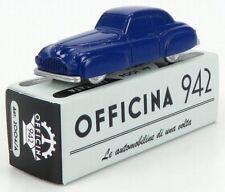OFFICINA-942 ART2004A SCALA 1/76 FIAT 1500 GHIA COUPE GRAN SPORT 1947 BLUE