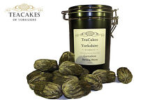 Carnation Green Tea Balls Flowering Artisan x 15 in Airseal Gift Caddy