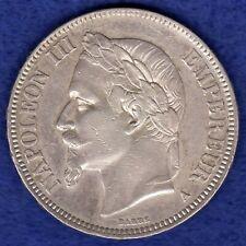More details for france, 1867 5 francs (ref. c0199)