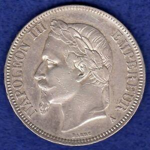 France, 1867 5 Francs (Ref. c0199)