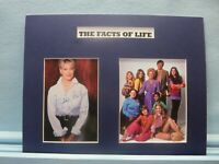 """Charolette Rae - """"The Facts of Life"""" and composer Gloria Loring autograph"""