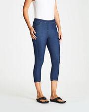 Denim Mid-Rise Capri, Cropped Jeans for Women