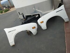 73-79 Datsun Pickup  620 Fender Pair OEM HTF SET STRAIGHT CLEAN shipping availab