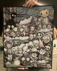 Over The Garden Wall 16x20 Signed Print