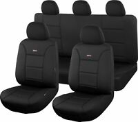 Neoprene Shark Skin Seat Covers for Toyota Hilux 07/2015 On Dual Cab Utility ...