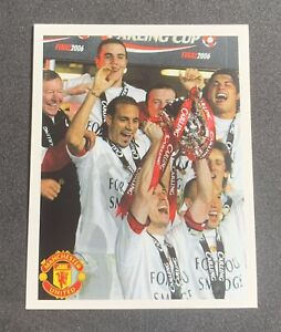 Panini 2006 Manchester United - Ronaldo Rookie Cup Final - #68 Sticker