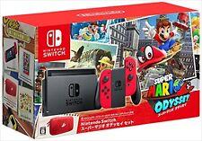 Nintendo Switch Super Mario Odyssey set bundle console JAPAN F/S JAPAN USED