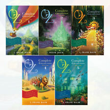 Oz, the Complete Collection Vol (1 to 5) 5 Books Set Pack By L Frank Baum NEW UK