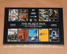 THE BLACK BOX 9 Giochi PC (Nuovo) Battlefield, Crazy Taxy, Tomb Raider, The Sims