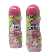 2 Purex Crystals 15.5 Oz Fabulously Fresh Scent 12 Wks In Wash Fragrance Booster