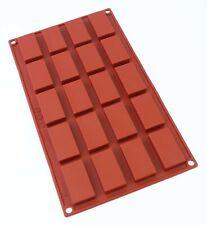 oggibox 20 Cavities Rectangular Muffin Cake Soap Chocolate silicone mold