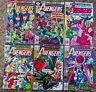 LOT OF 6 BRONZE AGE MARVEL AVENGERS COMICS #154 #158 #161 #162 #165 #169