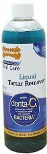 Nylabone Advanced Oral Care Liquid Tartar & Plaque Remover w/Denta-C 16oz
