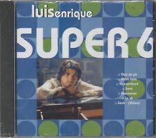 Luis Enrique - Super Seis Hits + Video - Rare Brand New Sealed ECD - 1203