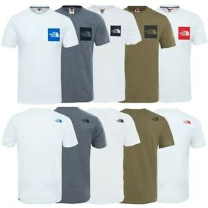 The North Face mens Tnf T-Shirt Coton Haut Col Rond