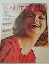 Vintage 1960s VOGUE KNITTING BOOK Fall & Winter 1965 Over 60 Pattern Designs