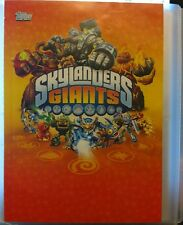 Topps Skylanders Giants Collectors Checklist Guide Trading Cards Holders