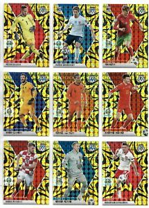Hugo Lloris France 2021 Panini Mosaic EURO 2020 Soccer Gold Reactive #114