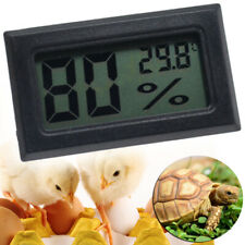 Digital Incubator Humidity Meter Thermometer For Egg Hatching Chicks Poultry US