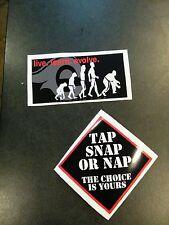 Bjj Patch Bumper stickers