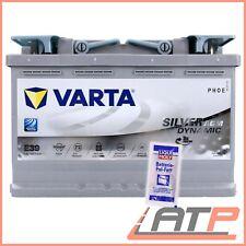 VARTA SILVER DYNAMIC 12V 70-AH 760A AGM AUTO-BATTERIE+10g POL-FETT 31855491