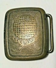 MENS HICKOK GOLFING BELT BUCKLE