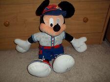 "Walt Disney World- 2006 Mickey Mouse Plush- 19"""