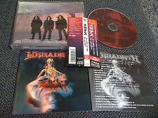 MEGADETH / the world needs a hero /JAPAN LTD CD OBI