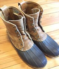 Vintage LL Bean Boots Women's Maine Hunting Shoes USA EUC Size 8 L USA