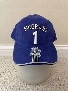 NWT NBA Tracy Mcgrady Orlando Magic Hat Cap Drew Pearson Youth One Size Blue