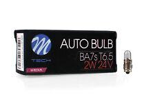 10pcs T6.5 BA7s 24V/2W M-TECH Bulb Set Bulbs 24V 2W Clear Z989