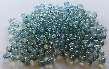 200 CZECH TEARDROP BEADS 5mm x 8mm - Many Colors and Finishes