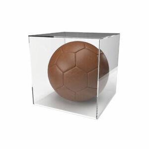 Football Display Case - 5mm White Base